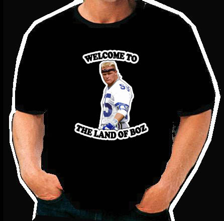 Brian Bosworth funny football retro  T Shirt