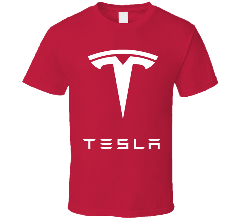 Tesla Motors Electric Model S Roadster Car T Shirt