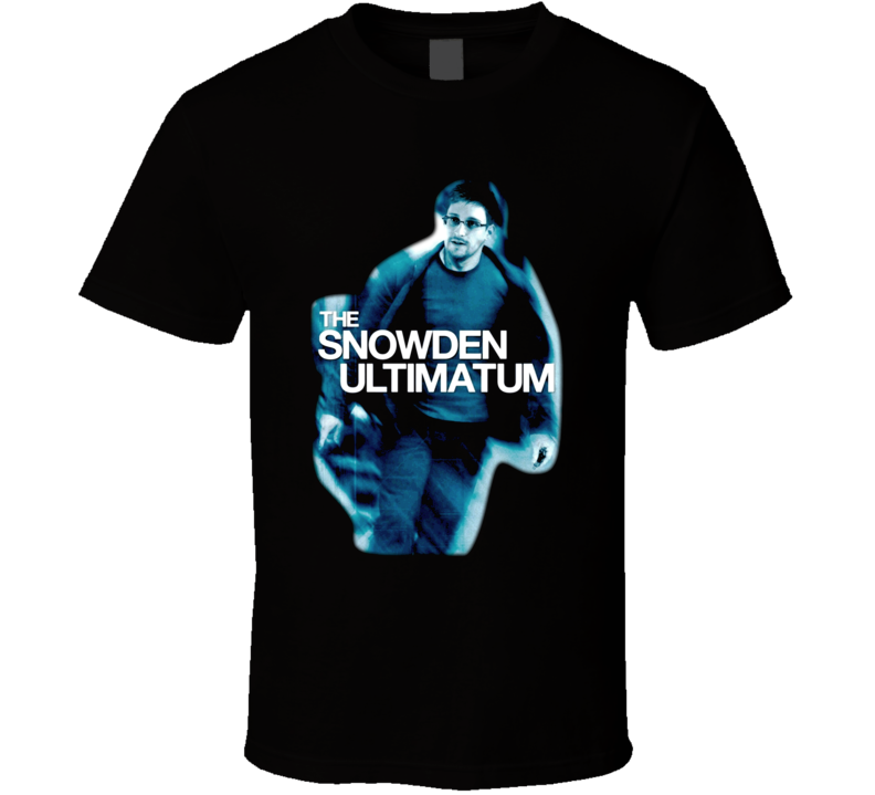 The Edward Snowden Ultimatum CIA T Shirt