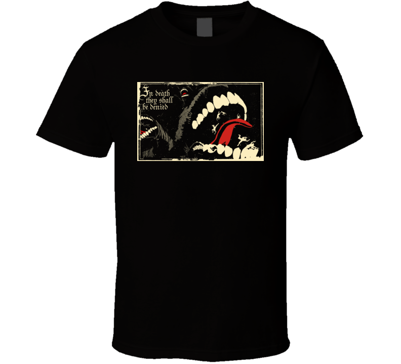 Dante's Inferno Video Game Comic Movie T Shirt