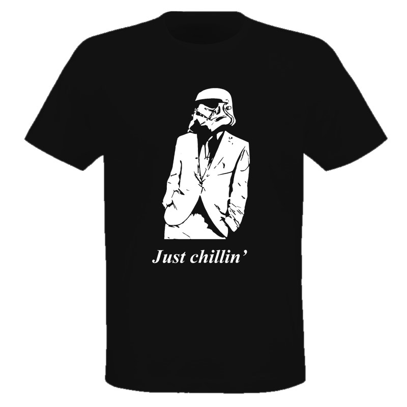 Just Chill Trend Trooper Star Wars Funny T Shirt