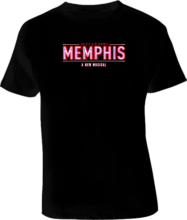 Memphis A New Musical T Shirt