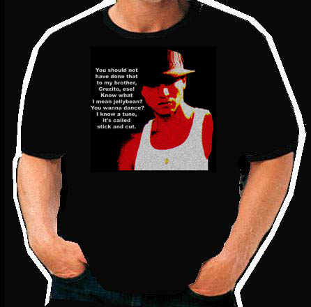 Blood in Blood out Paco Mexican hip hop  T Shirt