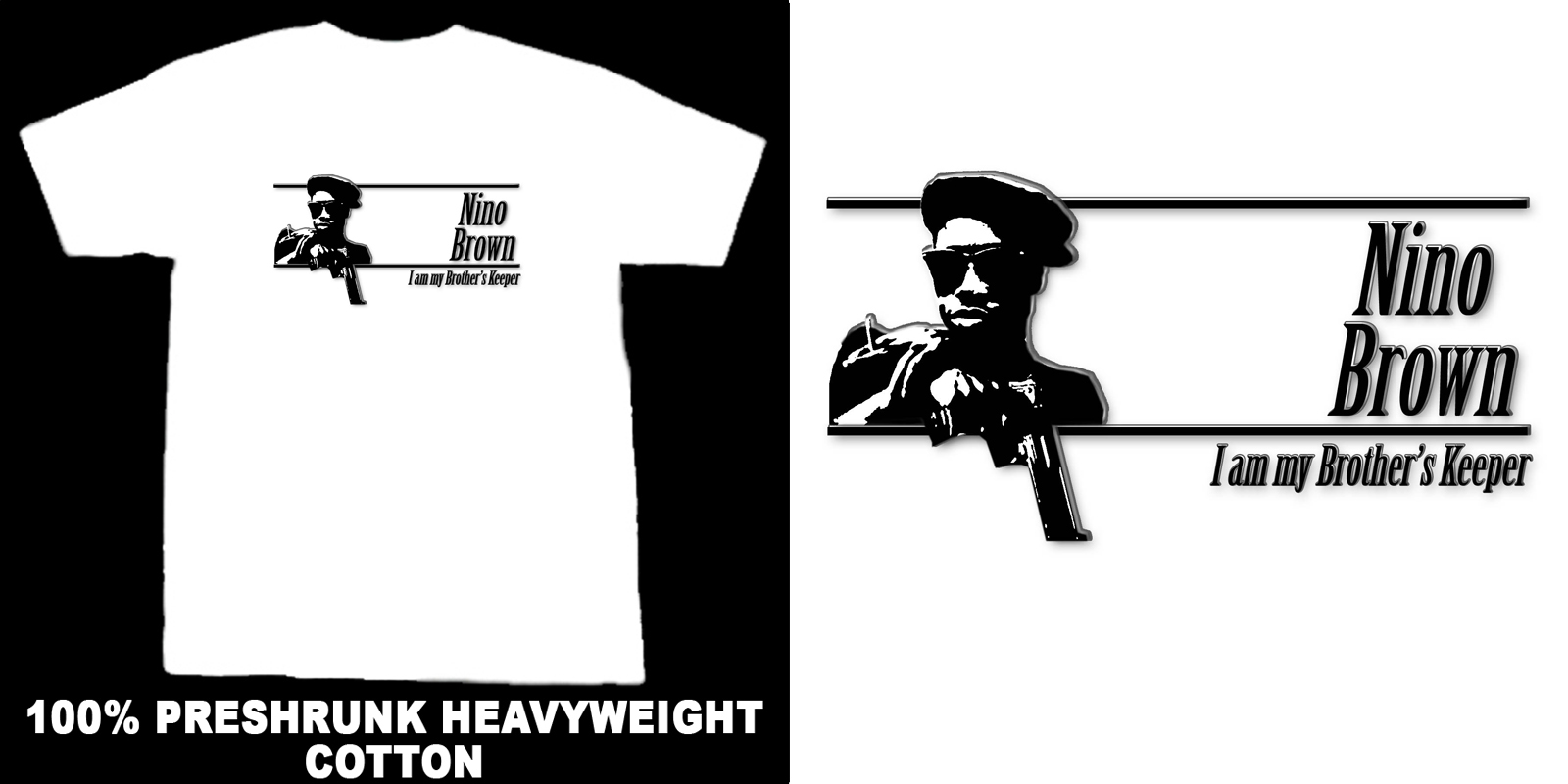 Nino Brown New Jack City Brother's Keeper  T Shirt