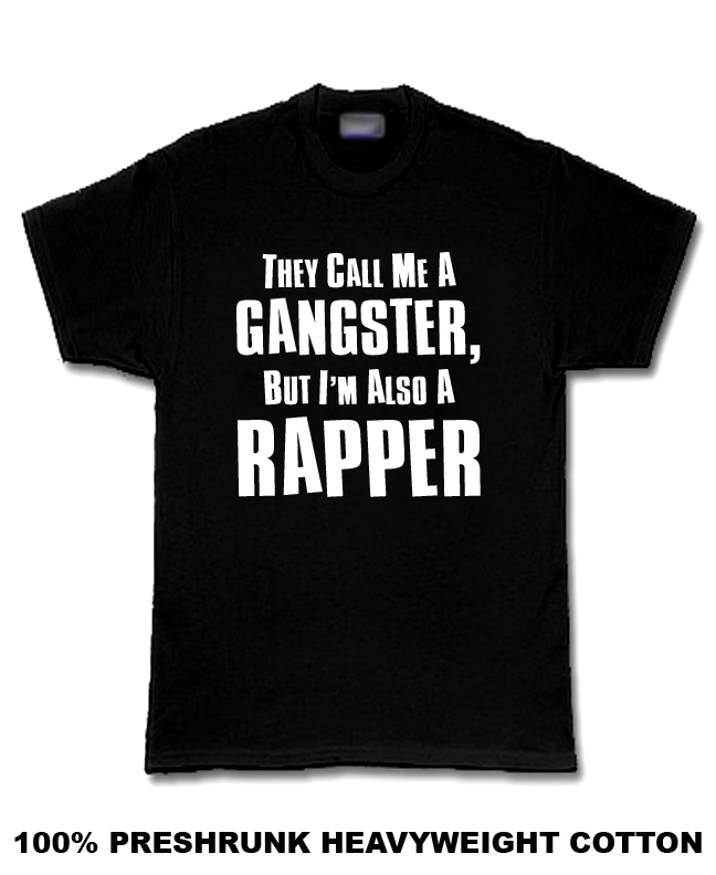 Call me Gangster also rapper Haitian Hip Hop  T Shirt