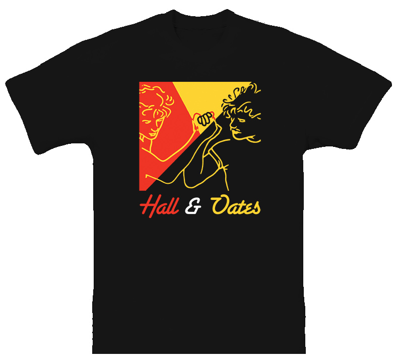 Hall And Oates 1980S Pop Classic T Shirt