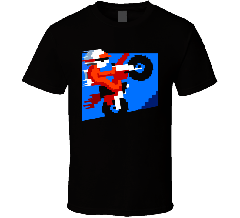 Excite Bike Video Game Classic T Shirt