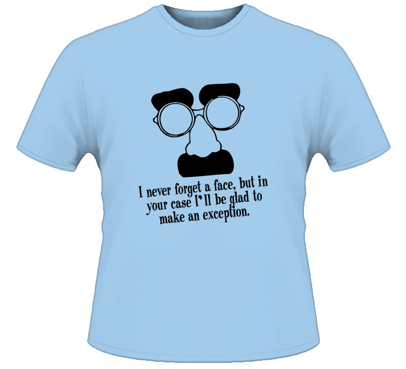 Groucho Marx Comedian Funny T Shirt